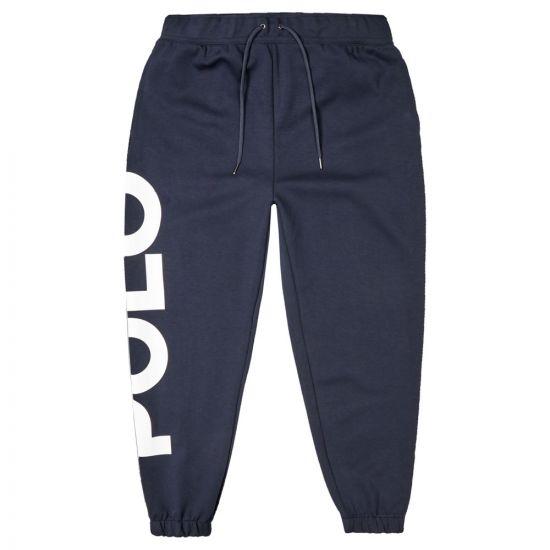 Ralph Lauren Polo Sweatpants - Navy 21537CP -1