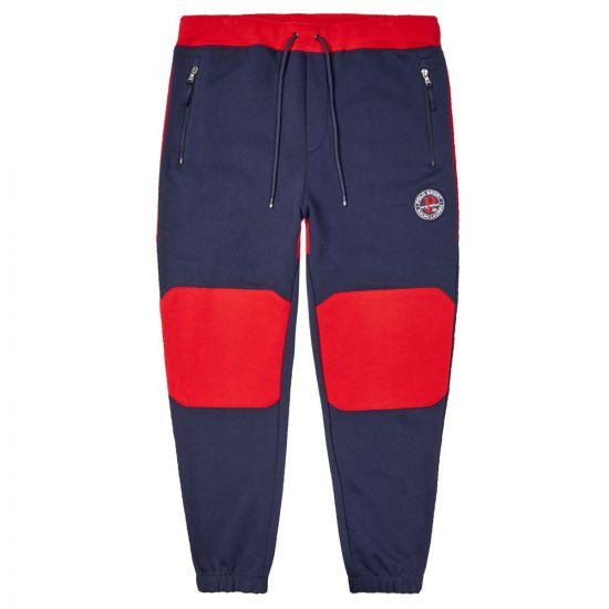 ralph lauren sweatpants 71079081 001 navy / red
