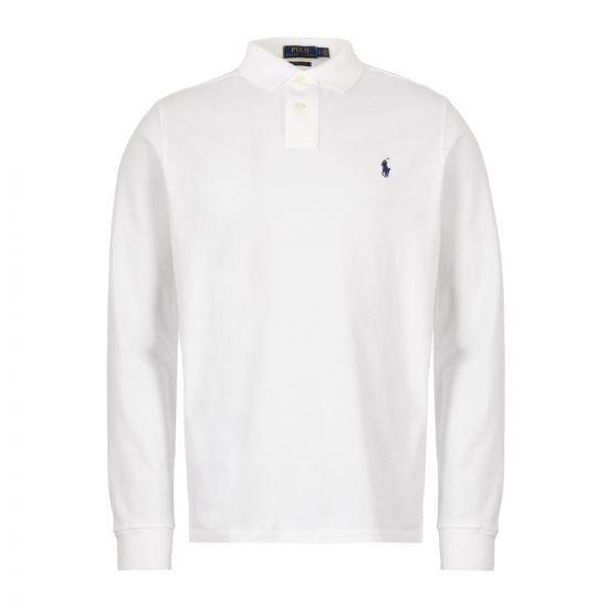 Ralph Lauren Long Sleeve Polo 710680790 001 White