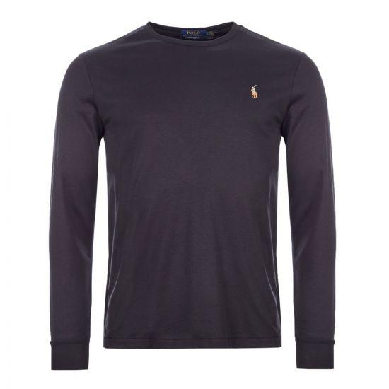 ralph lauren long sleeve t-shirt 710760121 001 black