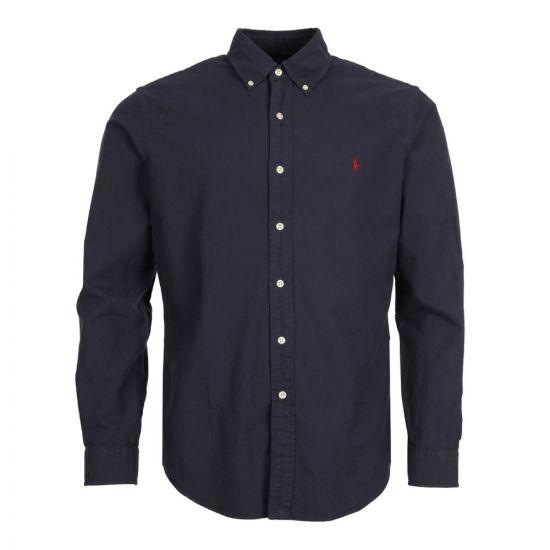 Polo Ralph Lauren Oxford Shirt 710723610 003 In Navy