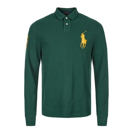 Ralph Lauren Long Sleeve Polo 710766857 004 Green