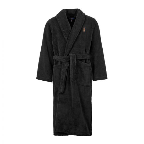 Ralph Lauren Dressing Gown | 714621695 007 Black