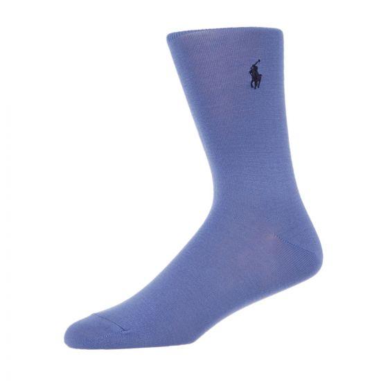 Ralph Lauren Socks Three Pack 449767209 002 Purple / Navy