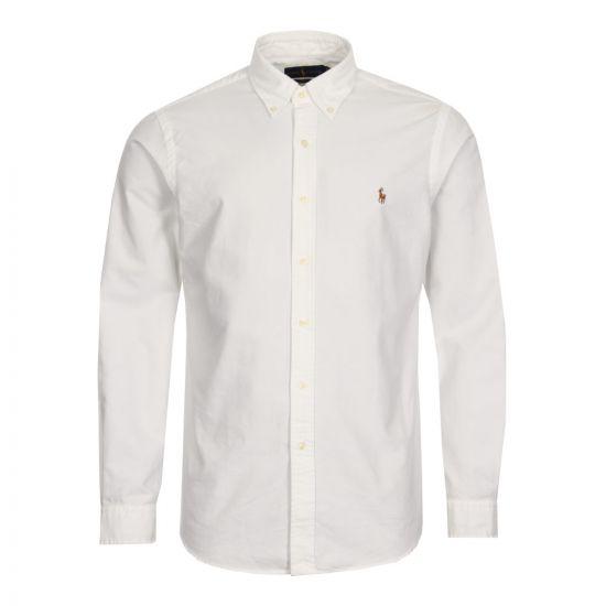 Ralph Lauren Slim Fit Oxford Shirt White
