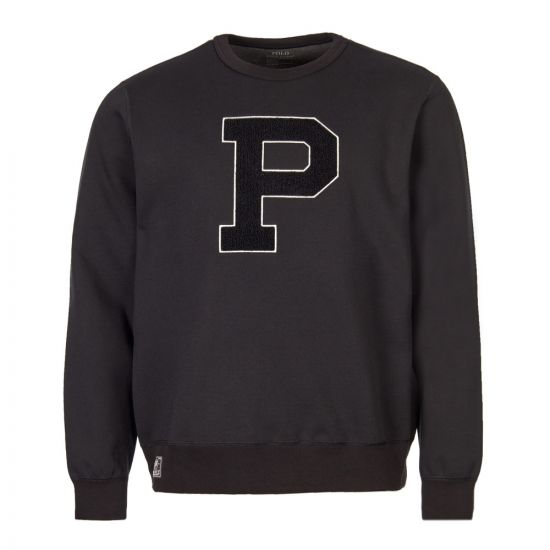 Polo Ralph Lauren P Sweatshirt | 710691256 004 Black