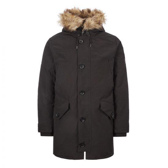 Ralph Lauren Annex Parka | 710756916|004 Black | Aphrodite Clothing