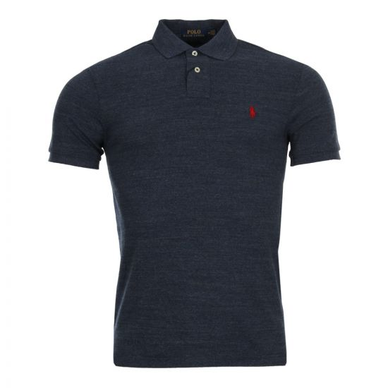Ralph Lauren Polo Shirt in Classic Royal Heather 710548797 012