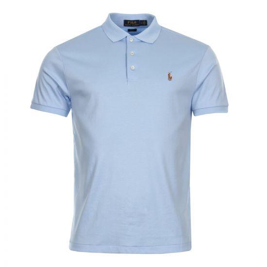 Ralph Lauren Slim Fit Polo Blue 710685514-004