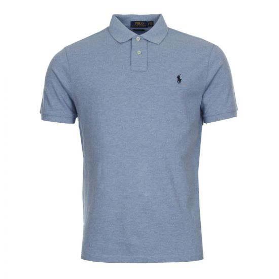 Ralph Lauren Custom Fit Polo 710666998-007 Blue