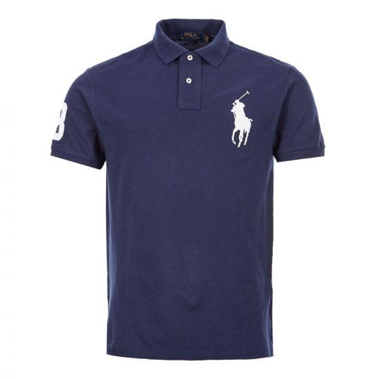 Ralph Lauren Polo Shirt   710794660 003 Navy