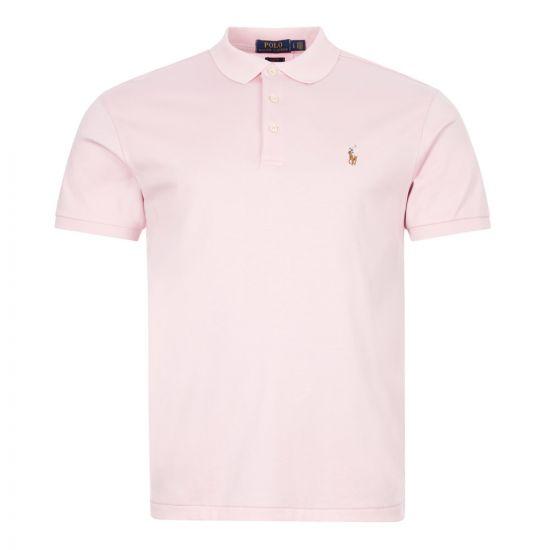 Ralph Lauren Slim Fit Polo Shirt | 710652578 111 Pink