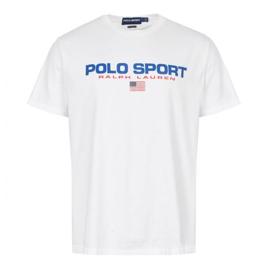 Ralph Lauren T-Shirt Polo Sport 710750444 002 White