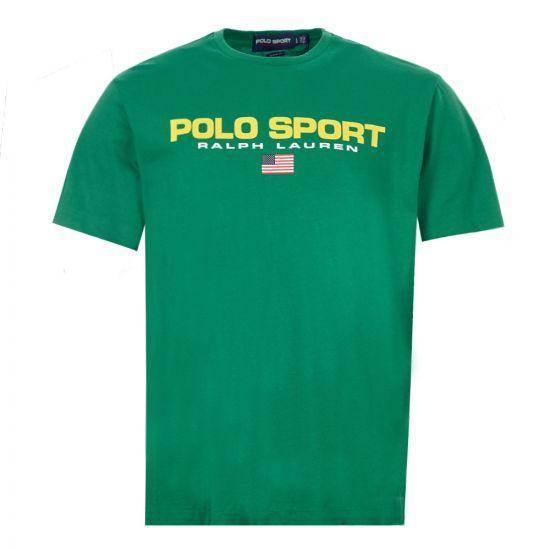 Ralph Lauren T-Shirt Polo Sport - Green 21791CP -1