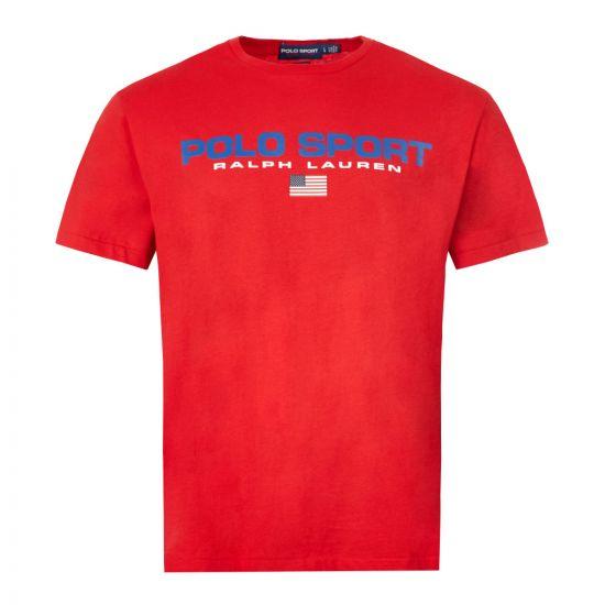 Ralph Lauren T-Shirt Polo Sport - Red 21448CP -1