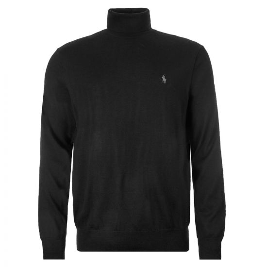 Ralph Lauren Sweater Roll Neck | 710771090 001 Black