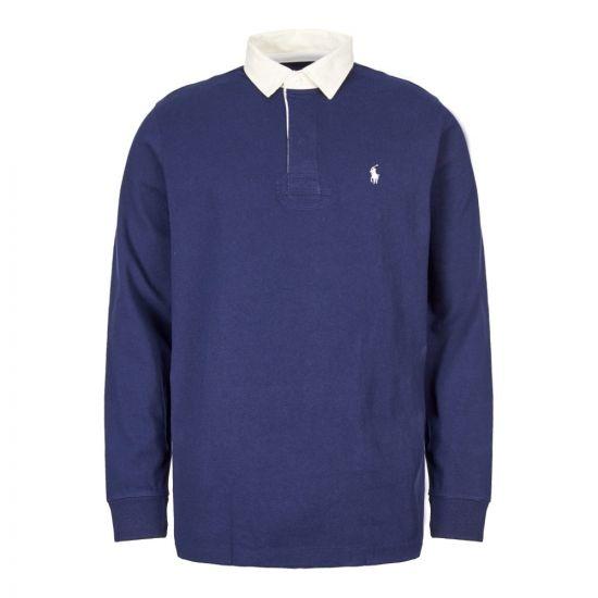 Ralph Lauren Rugby Shirt 710717115 005 Navy