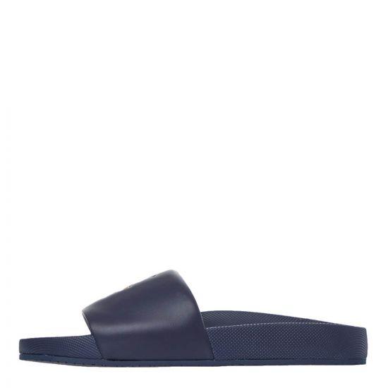 Polo Ralph Lauren Sliders | Navy 809793812 002 | Aphrodite