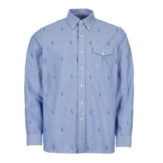 Ralph Lauren Shirt 710744536 001 Blue
