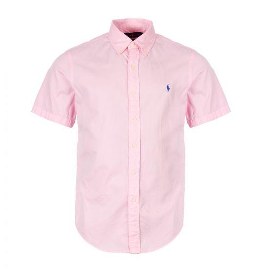 ralph lauren short sleeve shirt 710744858 002 pink