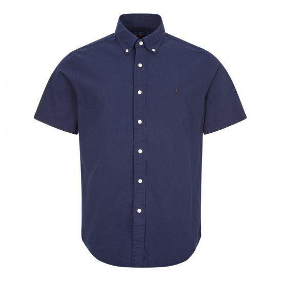 ralph lauren short sleeve shirt 710795250 002 navy