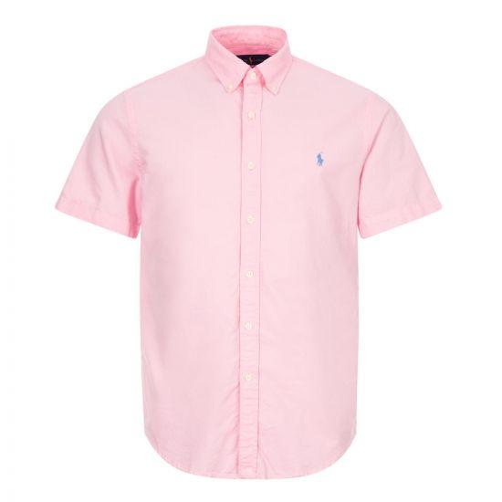 ralph lauren short sleeve shirt 710795382 009 pink