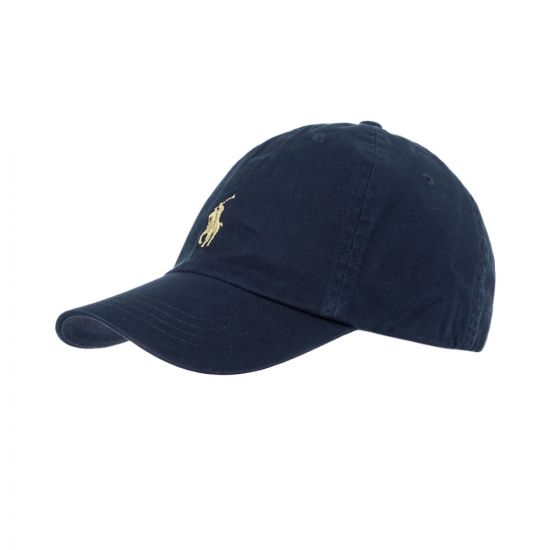 Ralph Lauren Cap 710548524006 In Navy At Aphrodite Clothing