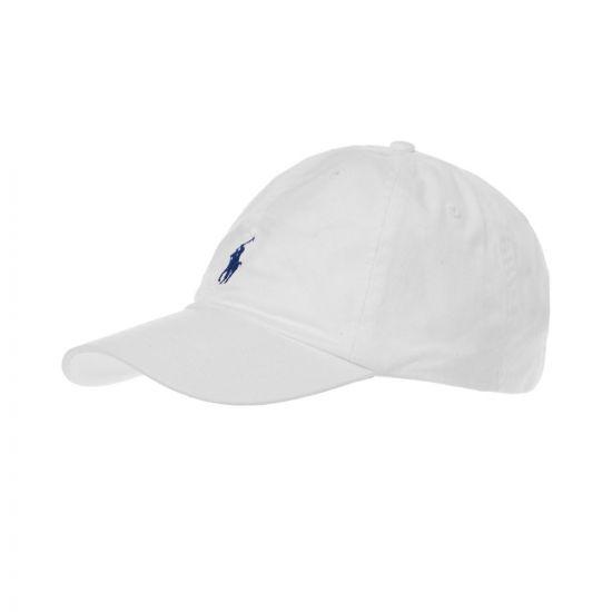 Ralph Lauren Cap , A81AH099 White , Aphrodite Clothing UK