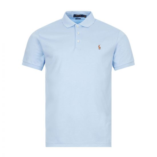 Ralph Lauren Slim Fit Polo , Blue 710685514-004 , Aphrodite