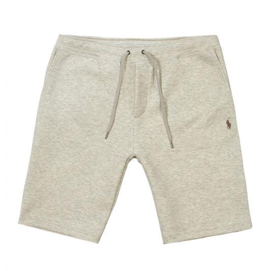 ralph lauren sweat shorts 710691243 005 grey heather