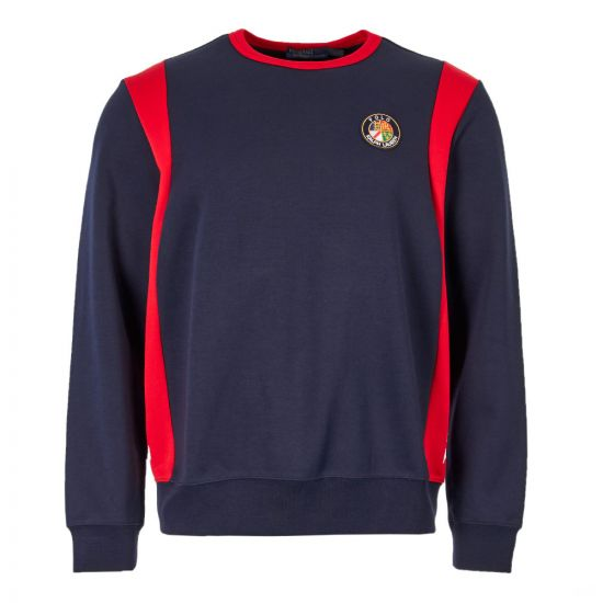 Ralph Lauren Sweatshirt 710719863 001 Navy/Multi