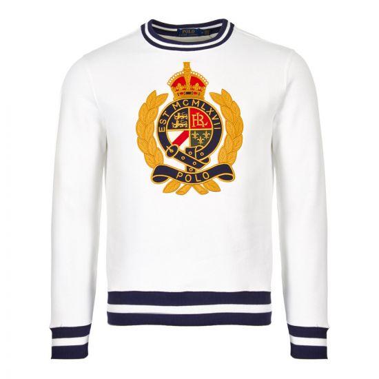 Ralph Lauren Sweatshirt 710740901 001 White