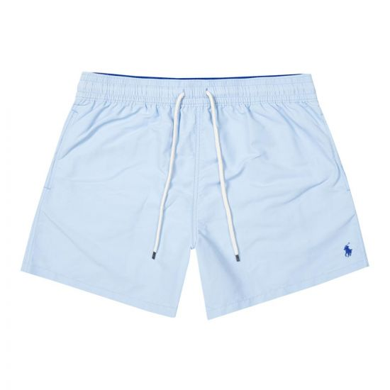 Ralph Lauren Traveller Swim Shorts   710777751 004 Sky Blue