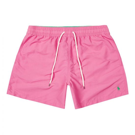 Ralph Lauren Traveller Swim Shorts | 710777751 017 Pink