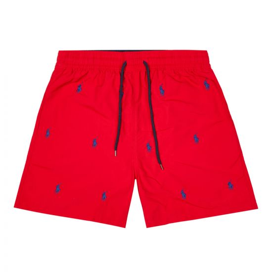 ralph lauren swim shorts 710787322 001 red