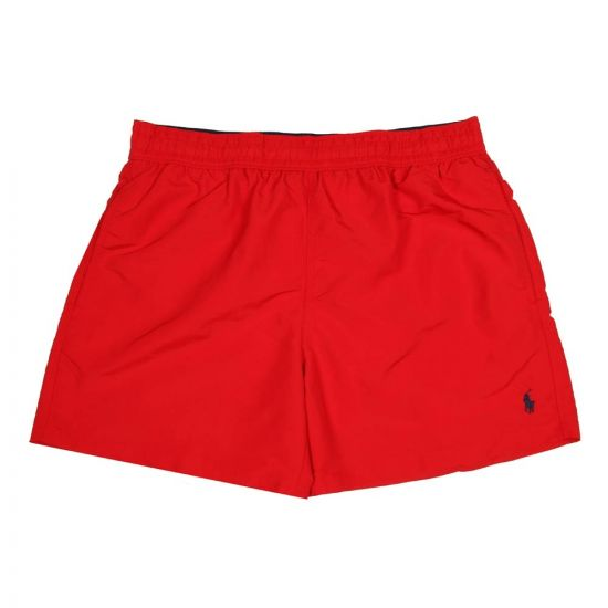 Ralph Lauren Hawaiian Swim Shorts 710601704001 Red
