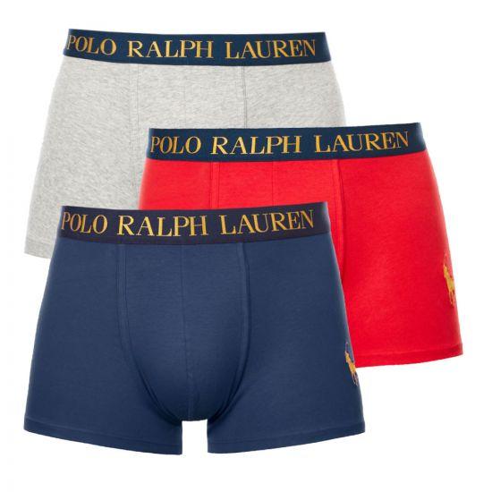 Ralph Lauren 3 Pack Trunks | 714768053 001 Multi