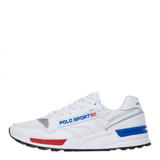 ralph lauren trackster trainers 809755987 001 white
