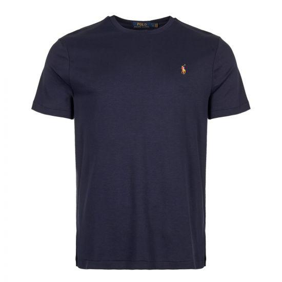 polo ralph lauren t-shirt  710740727 003 navy