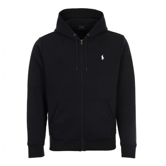 Ralph Lauren Zip Up Hoodie 710652313 008 Navy
