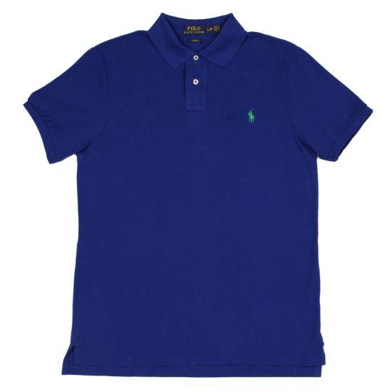 Slim Fit Polo Shirt - Royal Blue