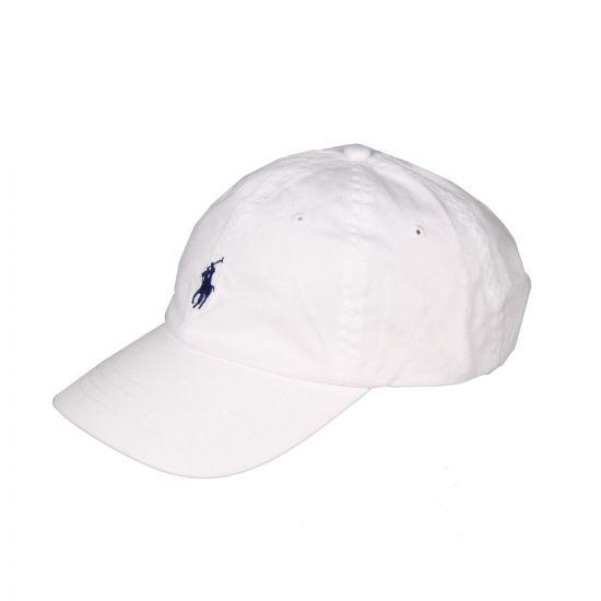 Ralph Lauren White Cap