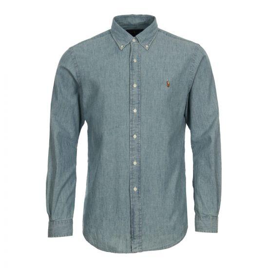 Ralph Lauren Shirt A04WSL3BC In Blue Chambray