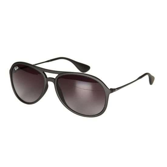 Ray Ban Sunglasses Alex Gradient in Black