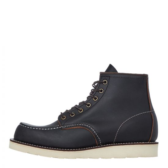 red wing moc toe boots 08849D black