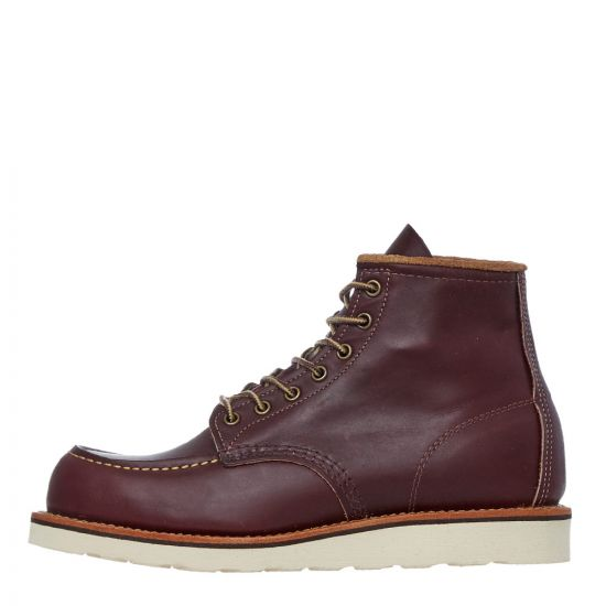 red wing moc toe boots 08856D oxblood