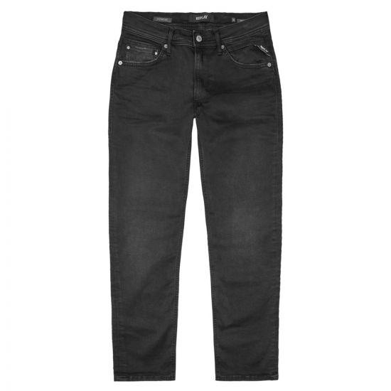 Jondrill Jeans - Black