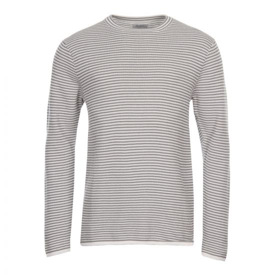 Saturdays NYC Alek Stripe Jumper M21811 AK02 S4600 Grey
