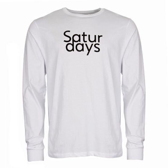 Saturdays NYC Long Sleeve T Shirt M41829 LS01 S9900 White