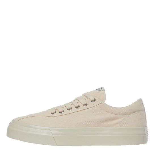 stepney workers club dellow canvas trainers YA01102 raw ecru